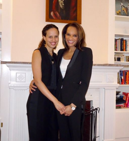 Nia-Malika Henderson with her wife