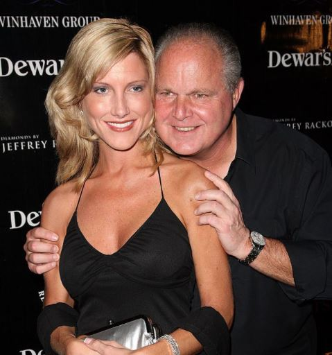 Rush Limbaugh with his wife Kathryn