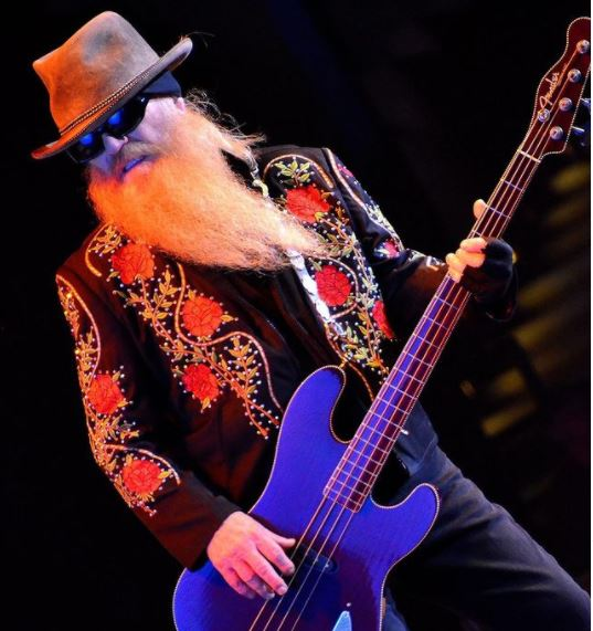 Dusty Hills performing from ZZ Top