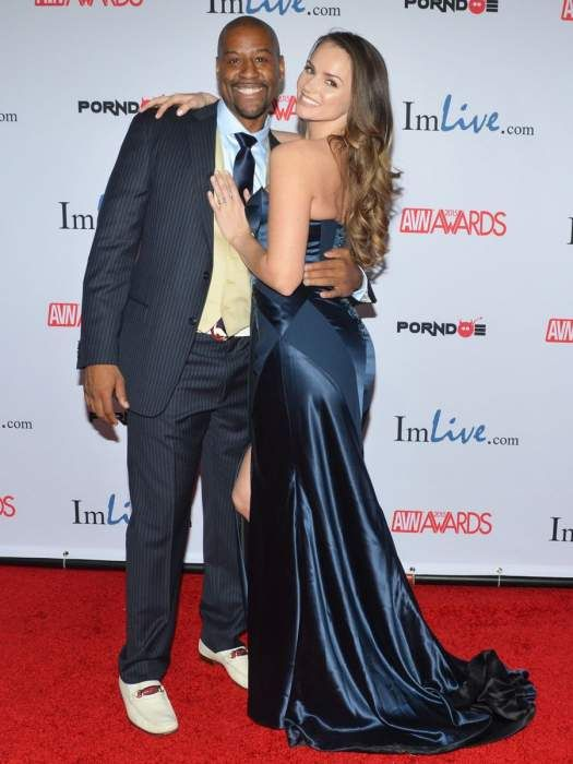 Tori Black with her husband, Lyndell Anderson