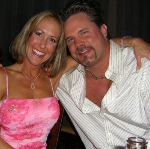 Brandi Love with her husband, Chris Potoski.