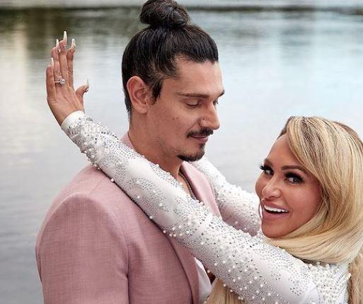 Darcey Silva with her fiance, Georgi Rusev