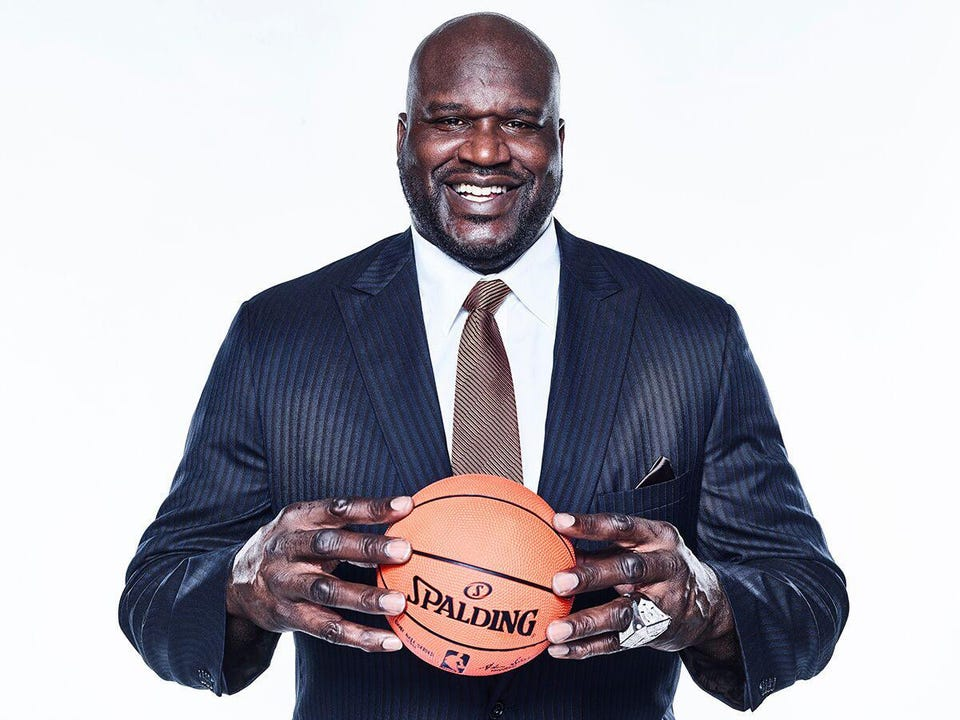 Shaquille O'Neal. (Source: Forbes)