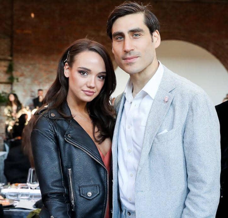 Sofia with her boyfriend, Peter Nelson.