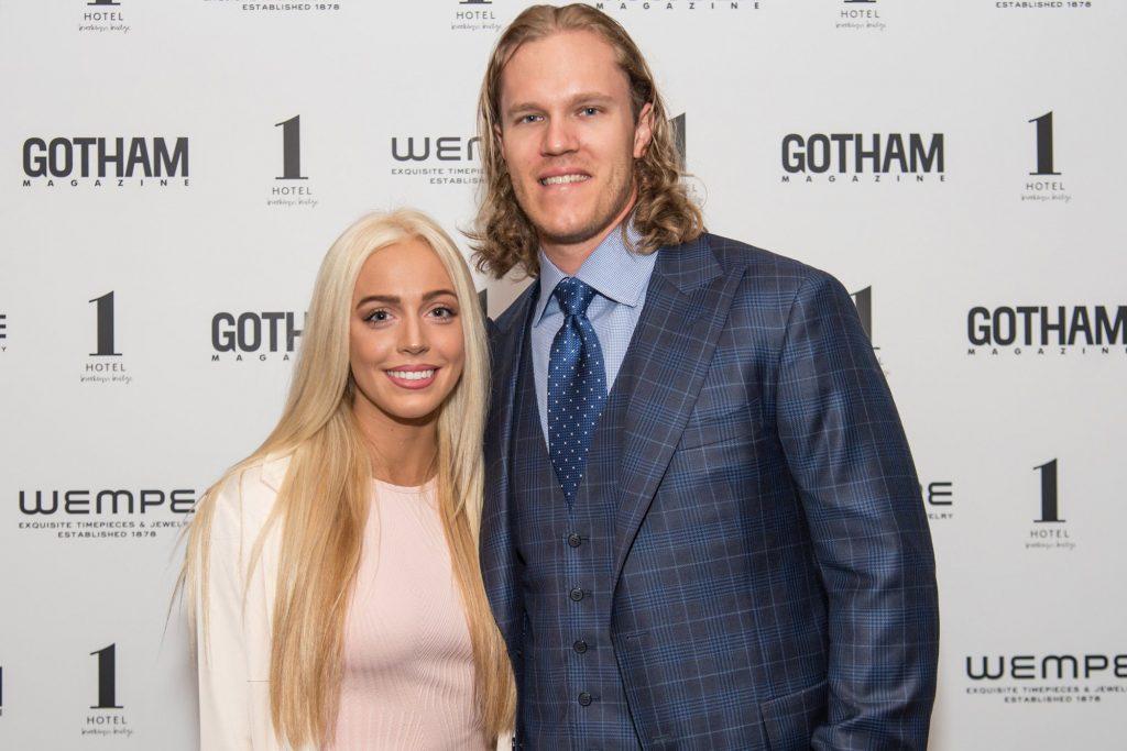 Alexandra Cooper with her ex-boyfriend, Noah Syndergaard